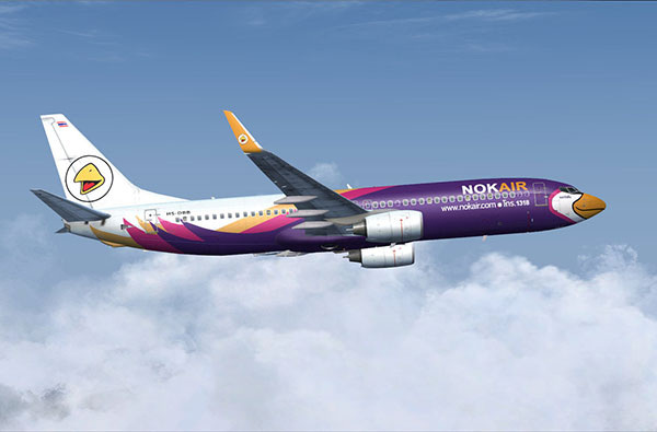 Nok Air thong tin hang hang khong Nok Air 1