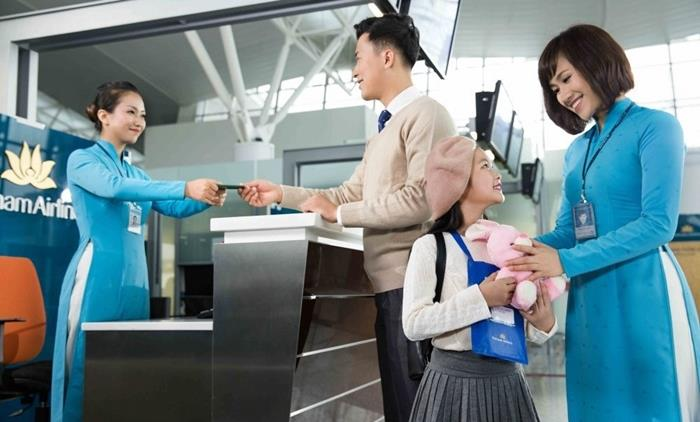 Photo of Dịch vụ Family check-in của Vietnam Airlines