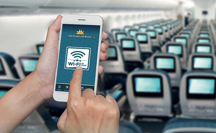 Photo of Dịch vụ Wifi trên chuyến bay của Vietnam Airlines