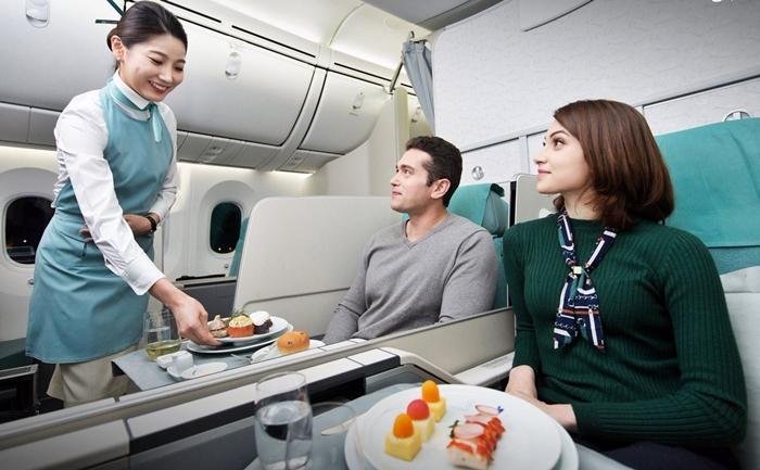 Photo of Suất ăn được phục vụ trên chuyến bay đường dài của Korean Air