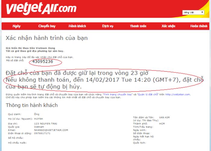 Photo of VietJet Air thay đổi mã code định dạng khi đặt vé máy bay