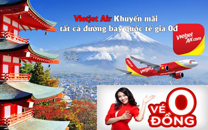 Photo of VietJet Air tung vé máy bay khuyến mãi 0đ áp dụng trong tháng 8/2020