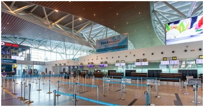Từ 26/7 tạm dừng chuyến bay quốc tế đến và đi tại sân bay Đà Nẵng